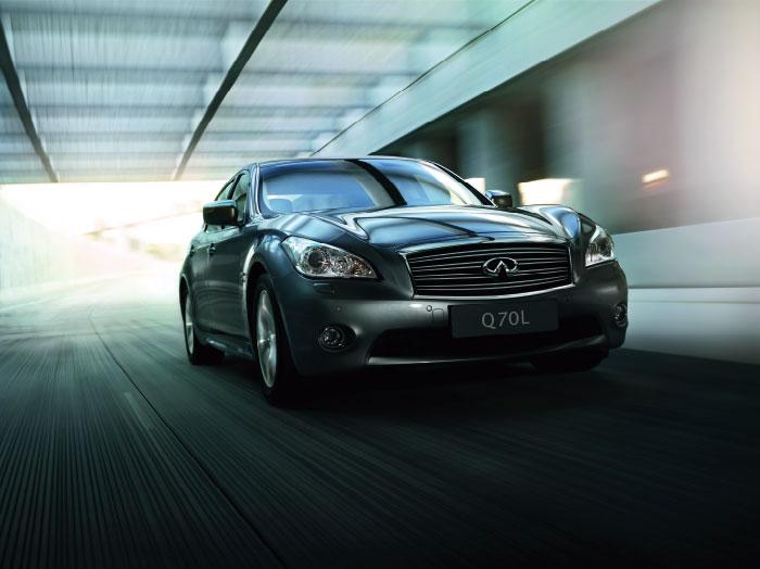 汽车品牌英菲尼迪q70车型提供配套,此次配套产品为邓禄普245/50r18